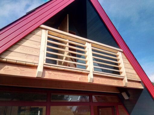 Balkon Ferienhaus