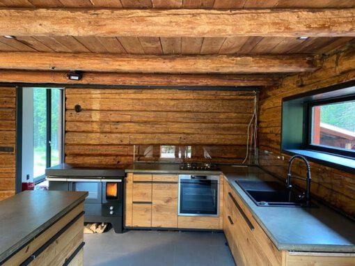 Küche Blockhaus